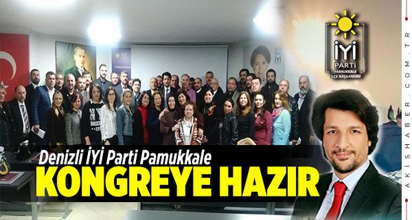 İYİ Parti Pamukkale Tüm Kadro Kongreye...