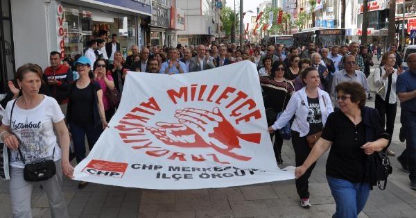 CHP'den Alkış Eylemi