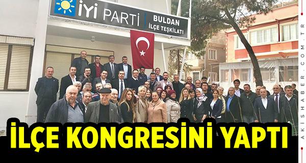 İYİ Parti Buldan Kongresini Yaptı