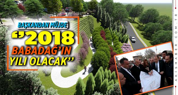 Başkan Osman Zolan'dan Babadağ'a Müjdeler