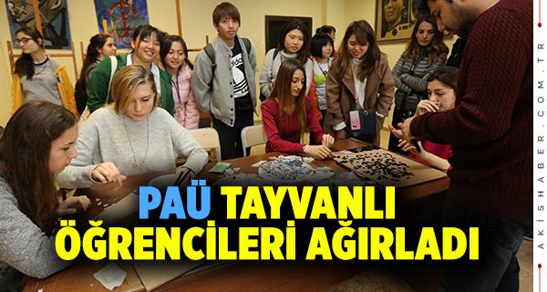 Tayvanlı Öğrencilerden PAÜ'ye Ziyaret