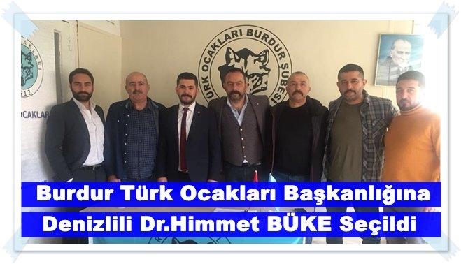Burdur Türk Ocaklarında Bayrak Değişimi
