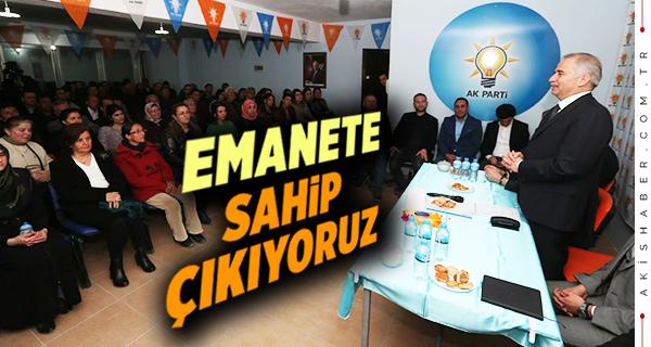 Başkan Zolan Sarayköy'de Anlattı
