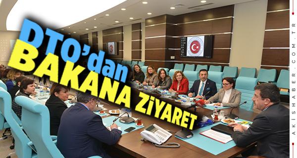 Ekonomi Bakanı Zeybekci'yi Ziyaret Ettiler