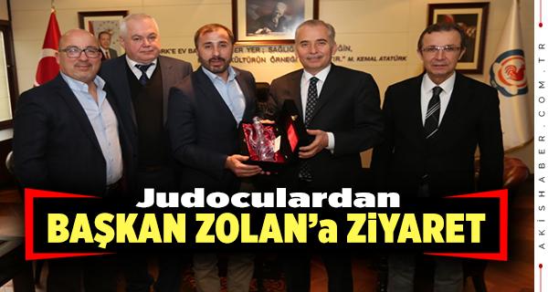Başkan Zolana Teşekkür Ziyareti