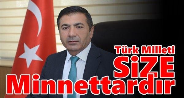 Erdoğan:Şehitlerimize Rahmet Diliyoruz
