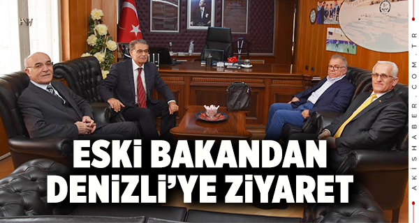 Eski Bakan Denizli'nin Misafiri