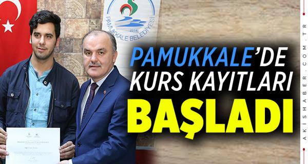 Pamukkale Belediyesinde Ücretsiz...