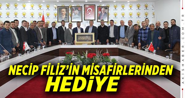 Başkan Filiz'in Misafirleri...