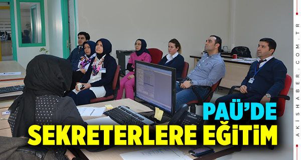 PAÜ'de Eğitim