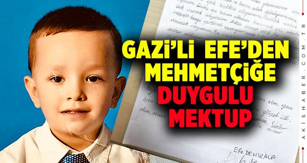 Minik Öğrenciden Mehmetçiğe Mektup