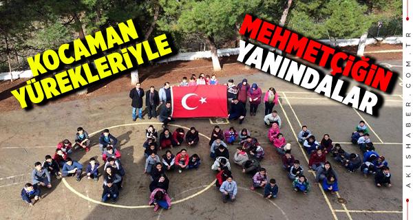 Beyağaç'lı Öğrencilerden Afrin'e Destek