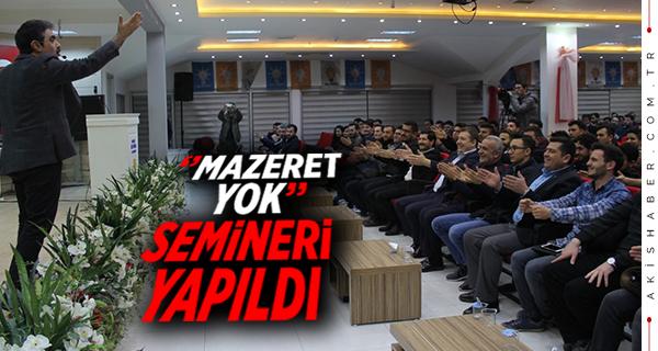 ''Mazeret Yok''