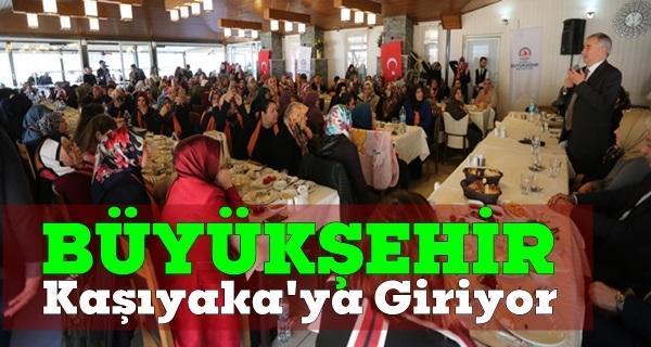 Aktepe ve Karşıyaka'ya altyapı müjdesi