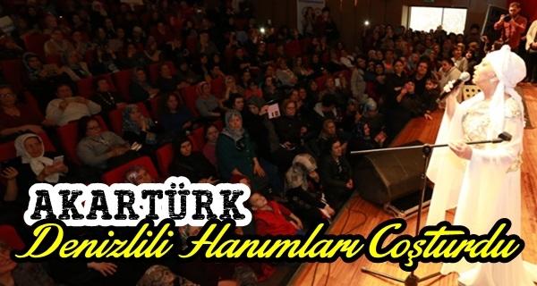 Kadınlara özel Bedia Akartürk konseri
