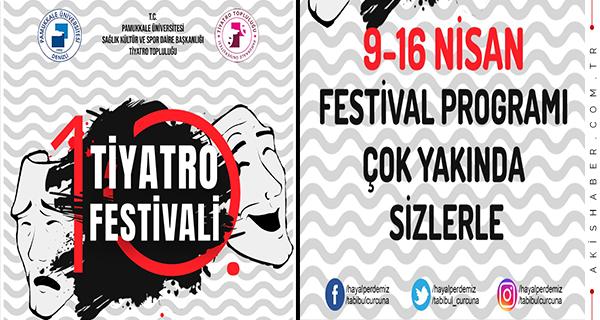 PAÜ 10. Tiyatro Festivali Çok Yakında