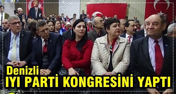 İYİ Parti Denizli İl Kongresi Yapıldı