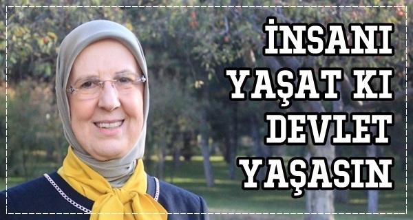 Ramazanoğlu'ndan 14 Mart Mesajı
