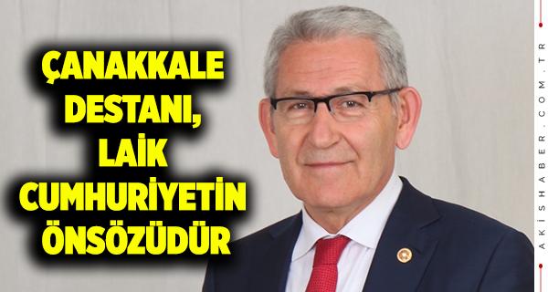 Arslan'ın Çanakkale Zaferi Mesajı