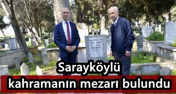 Adöv Ayşe'nin mezarı bulundu