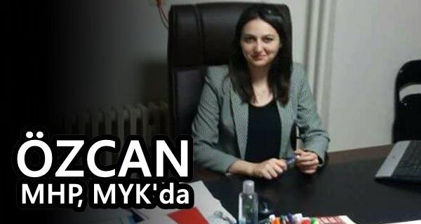 Av.Gülay Özcan MHP MYK'ya seçildi