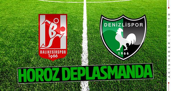 Balıkesirspor Denizlispor canlı maç skoru
