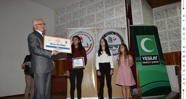 Bağımlılık Temalı Yarışmada Ödüller Verildi