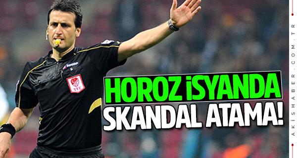 Denizlispor Rizespor maçına skandal hakem ataması!