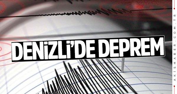 Denizli Irlıganlı'da deprem! Beşik gibi sallandı