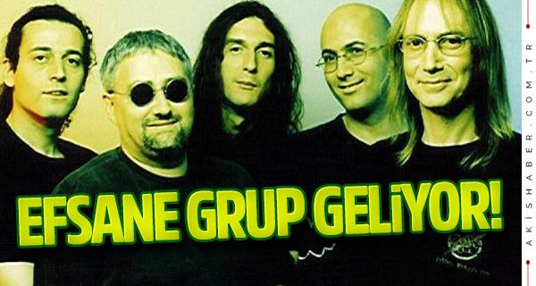 Efsane rock grubu Denizli'ye geliyor!