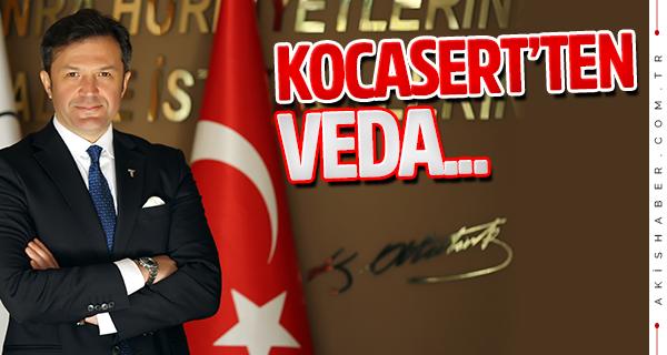 Süleyman Kocasert'ten DENİB'e veda!