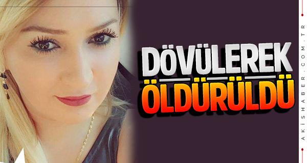 Azerbaycanlı kadının esrarengiz ölümünde darp iddiası
