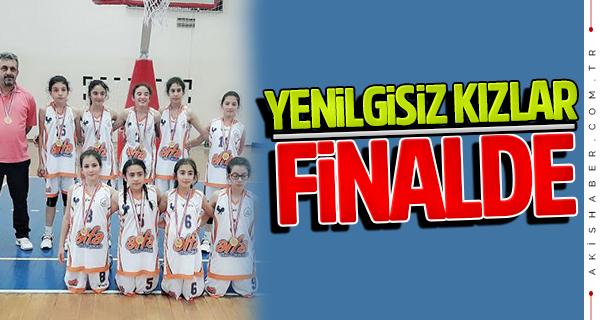 Esentepe Ortaokulu kızları Türkiye finalinde
