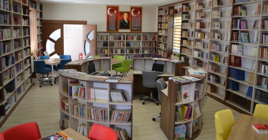 Dazkırı'da O Kütüphane Artık Bambaşka