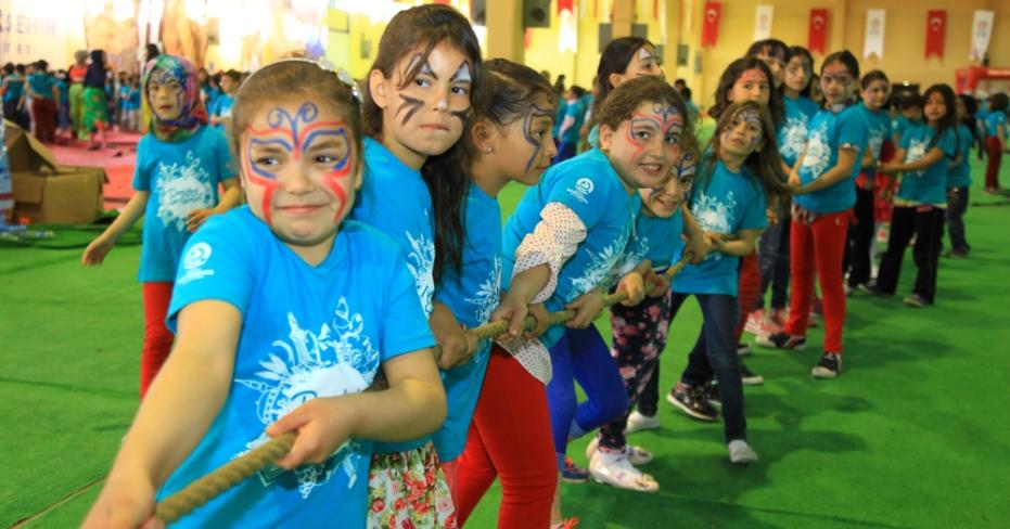 Türkiye'nin En büyük Çocuk Şenliği Denizli İlçelerinde