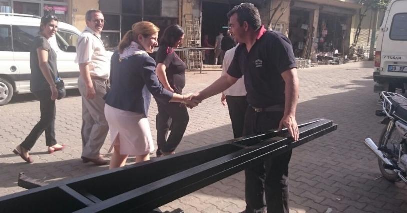 Basmacı Seçim Çalışmalarına Buldan'da Devam Ediyor