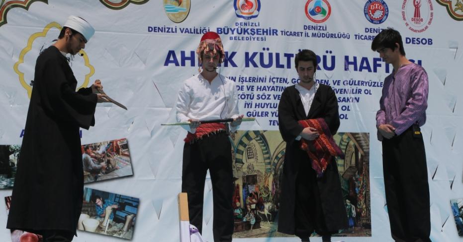 Ahilik Kültürü Haftası Başladı