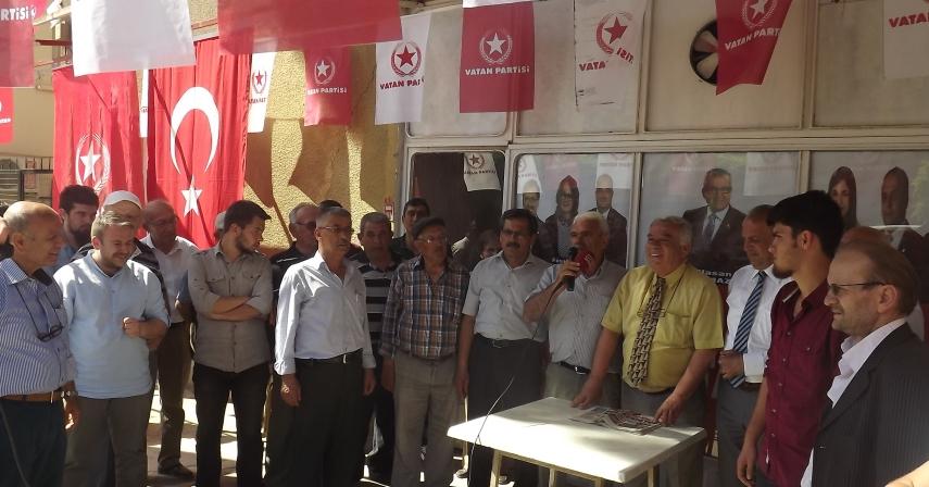 Vatan Partisi Sarayköy'ü Ziyaret Etti