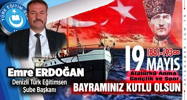 Emre Erdoğan, Türk Eğitim Sen Başkanı
