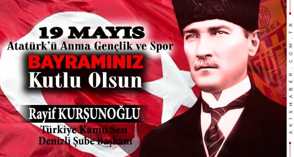 Rayif Kurşunoğlu, Türkiye Kamu Sen Şube Başkanı