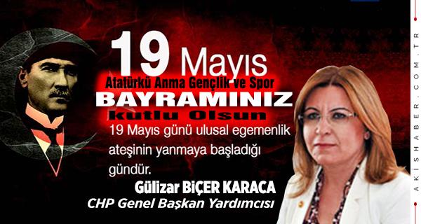 Gülizar Biçer Karaca, CHP Genel Başkan Yardımcısı