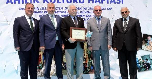 Denizli'de 'Yılın Ahisi' Terzi Osman