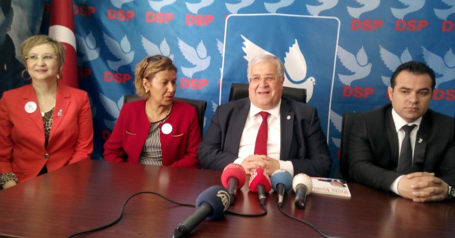 DSP Genel Başkanı Masum Türker Denizli'de