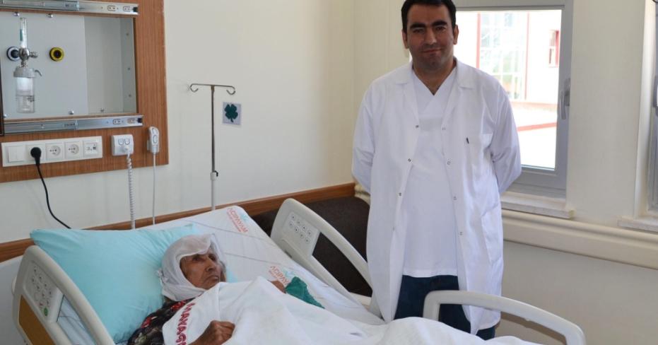 Acıpayam'da 5 Yıl Aradan Sonra İlk Protez Ameliyatı