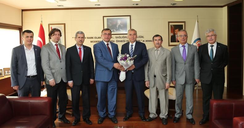 SGK'dan Başkan Zolan'a Ziyaret