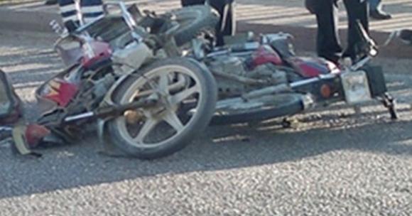 Çameli de Motorsiklet Kazasında 2 Ağır Yaralı
