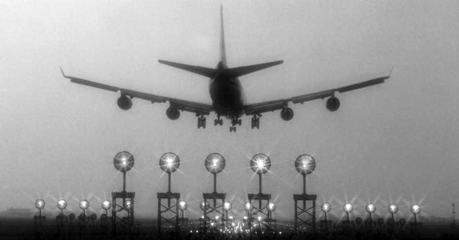 Çardak'ta ki Yoğun Sis Nedeniyle Uçuşlar İptal!