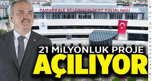 Pamukkale'ye Dev Sağlık Hizmeti