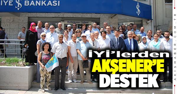 İlçe Teşkilatlarından Akşener'e Tam Destek