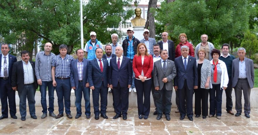 Yenimahalle Belediyesi'nden Dazkırı'ya Destek Ziyareti